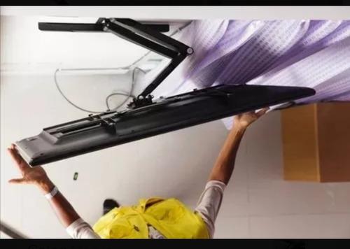 soporte tv plana curve de 23 a 55 giratorio brazo extensible