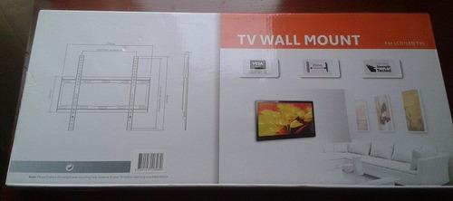 soporte tv plasma para pared 32  hasta 55   entrega inmediat
