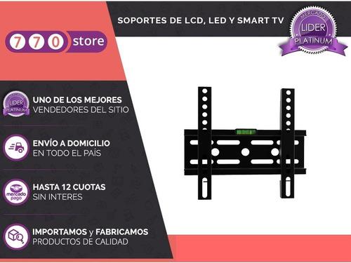 soporte tv smart led fijo reforzado 13 a 42 oferta promoción
