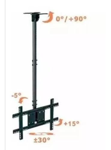 soporte tv techo pared ajustable base 20 55 inclinacion