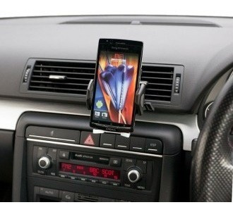 soporte universal celular mp3 mp4 ipod gps holder para auto