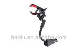 soporte universal clip. con cargador usb