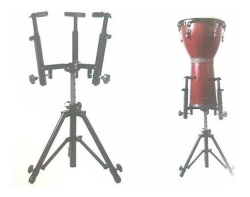 soporte universal con pie djembe / conga