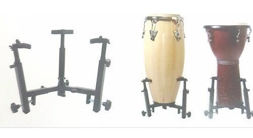 soporte universal conga / bongo / djembe