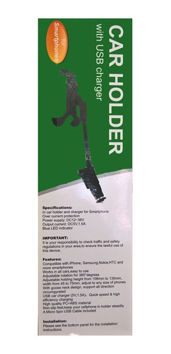 soporte universal de celular para carro (car holder) (9)