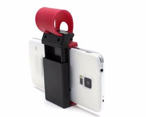 soporte universal holder volante silicona gps celular- moron