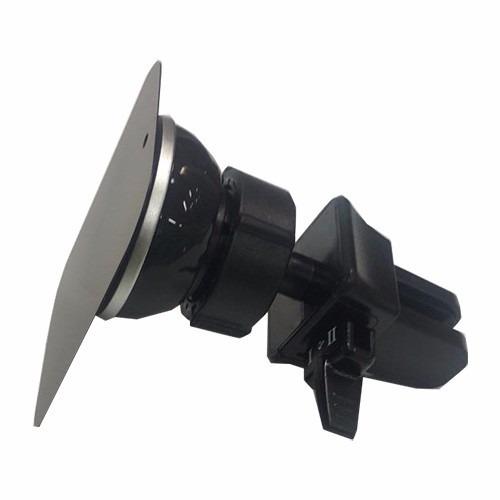 soporte universal magnetico para aire de coche negro