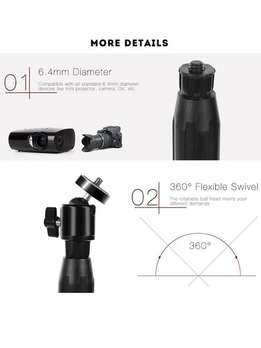 soporte universal plegable tripie proyector camara carrybag