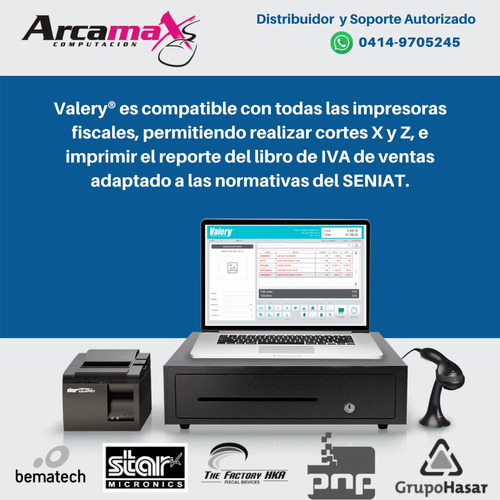 soporte y asesorías sistema administrativo valery® software