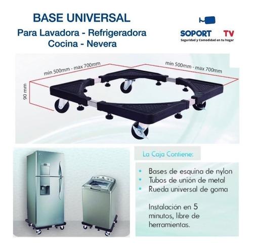 soportes bases para lavadoras,neveras,cocinas,secadoras