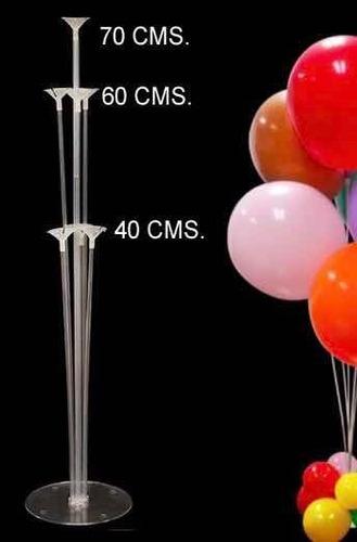 soportes de globos en acrílico