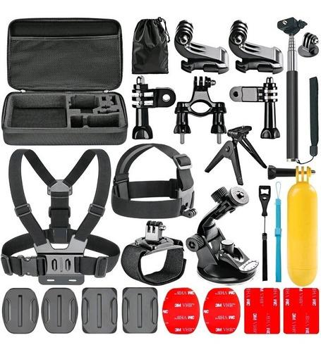 soportes kit de accesorios gopro 4 3 2 y cámaras sj5000 6000