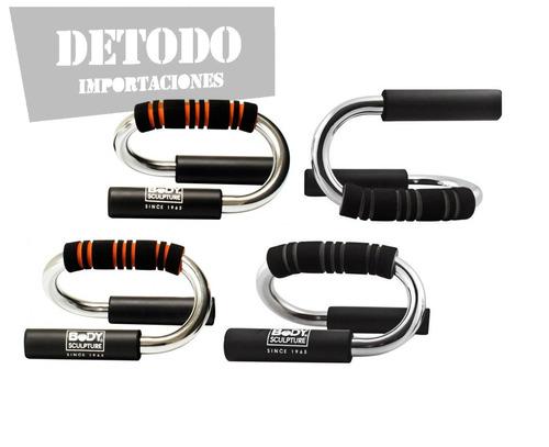 soportes para flexiones de pecho, push up bars ejercicio gym