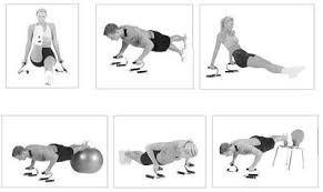 soportes para flexiones de pecho push up stand gym ejercicio