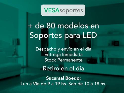 soportes para led lcd tv fijo extra chato 43 42 40 39 32