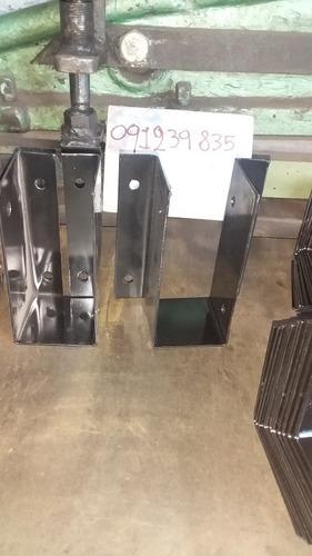 soportes para tirantes 4x 2 $120