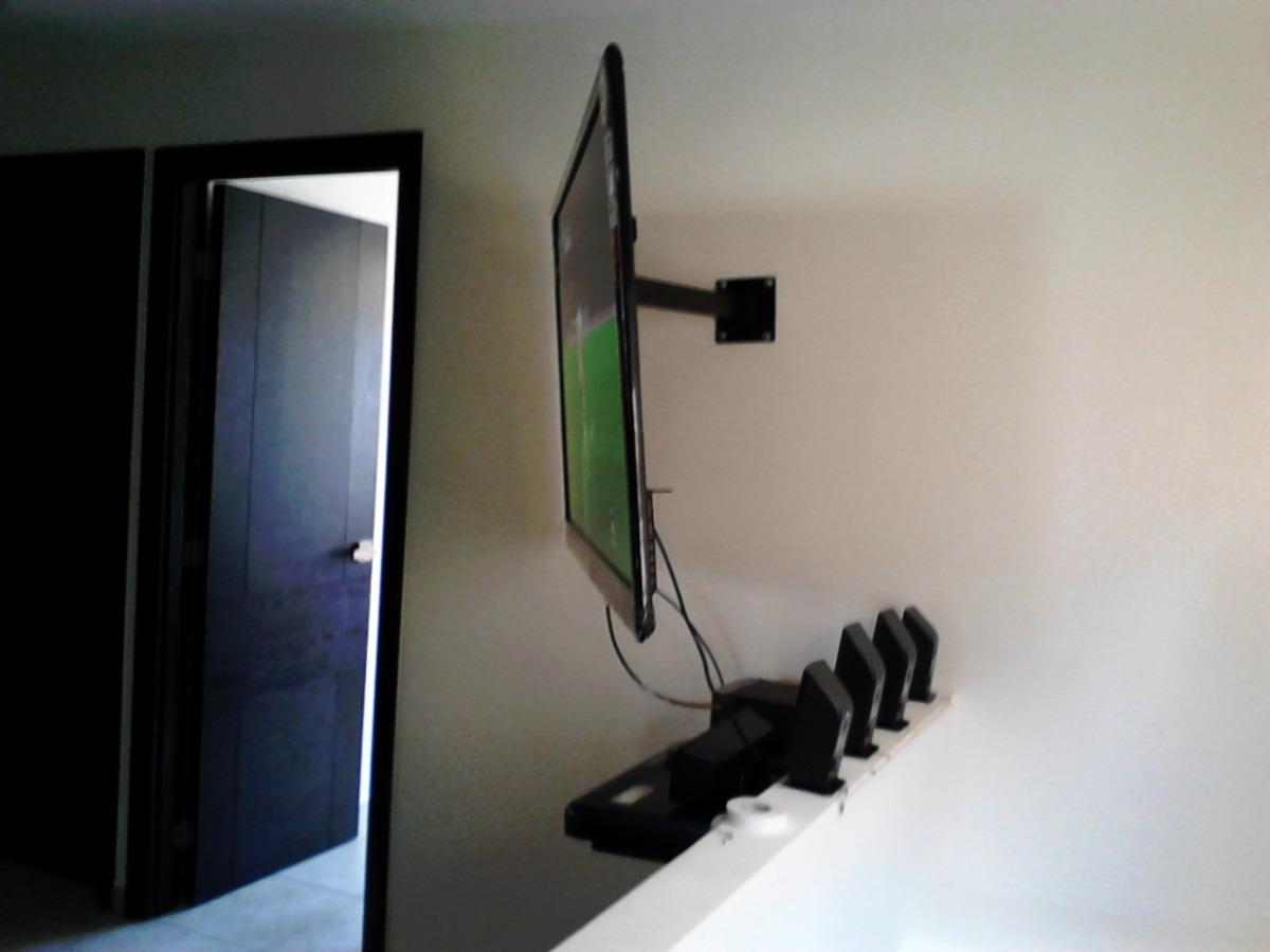Soportes de techo y esquineros para pantallas de 32 a - Soportes altavoces pared ...
