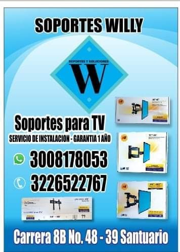 soportes willy