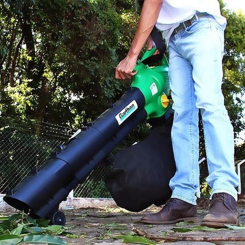 soprador aspirador folhas e resíduos gss-3300 garthen