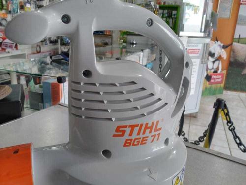 soprador aspirador stihl bge 71 elétrico 1100w 120v r$ 900,0