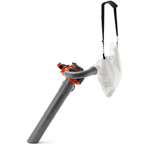soprador aspirador triturador de folhas husqvarna 125bvx 28c