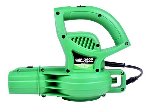 soprador de folhas resíduos elétrico 2000w gsf-2000 garthen