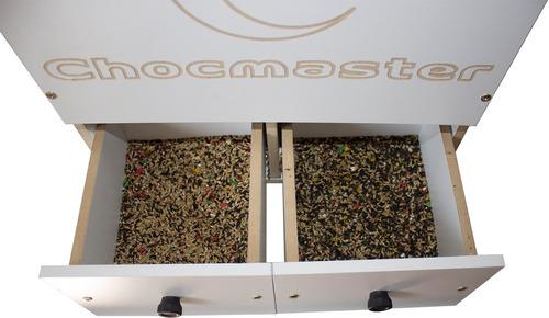 soprador limpador de sementes para pássaros - chocmaster