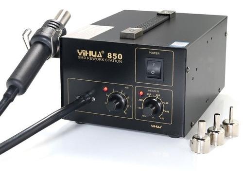 soprador térmico de bancada para solda e dessolda yihua 850