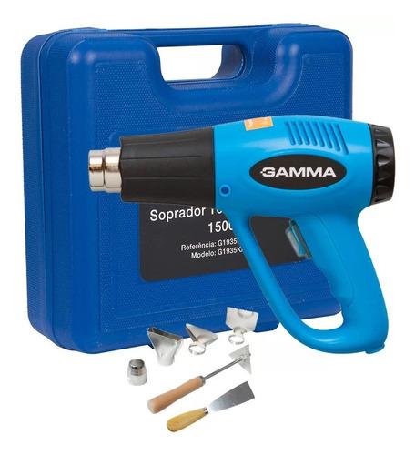 soprador termico gamma 220v com maleta e acessórios 2000w