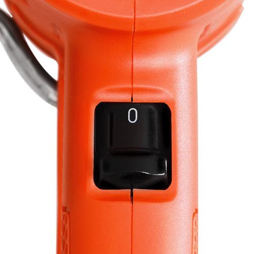 soprador térmico pistola de ar quente + ajuste d temperatura