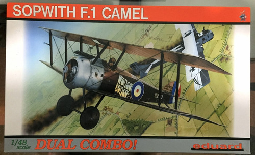 sopwith f.1 camel combo - eduard 1\48 - contém 2 kits!!
