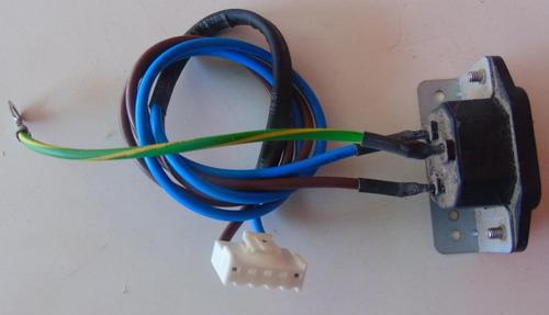 soquete de entrada de energia vizio vx32l hdtv10a