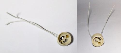 soquete gu10 para lampada dicroica (produto novo)