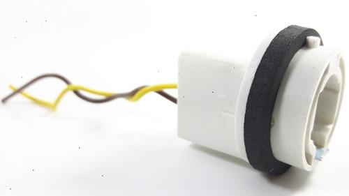 soquete para opala lâmpada de 1 polo com chicote ( dpaula )