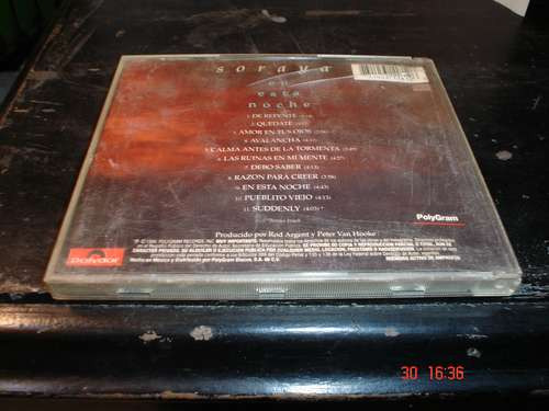 soraya - cd album  - en esta noche  dmh