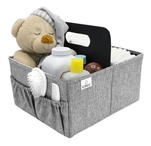 sorbus baby diaper caddy organizador   caja de almacenamient