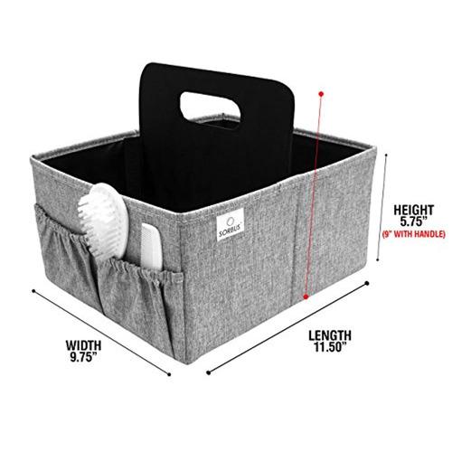 sorbus baby diaper caddy organizer   compartimento