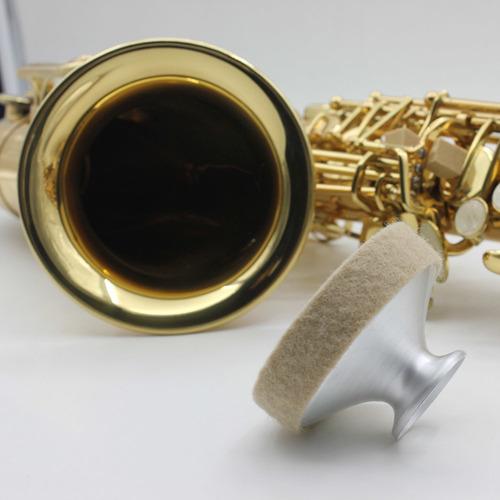 sordina para saxofón tenor de aluminio