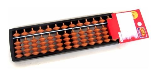 soroban ábaco calculadora contador japonês 13 dígitos c nota