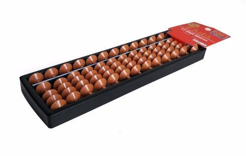 soroban ábaco japonês calculadora com 13 colunas