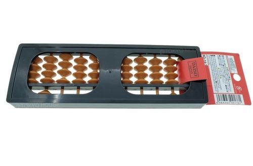 soroban ábaco japonês calculadora de 11 colunas