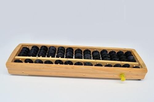 soroban ábaco madeira calculadora de 13 colunas