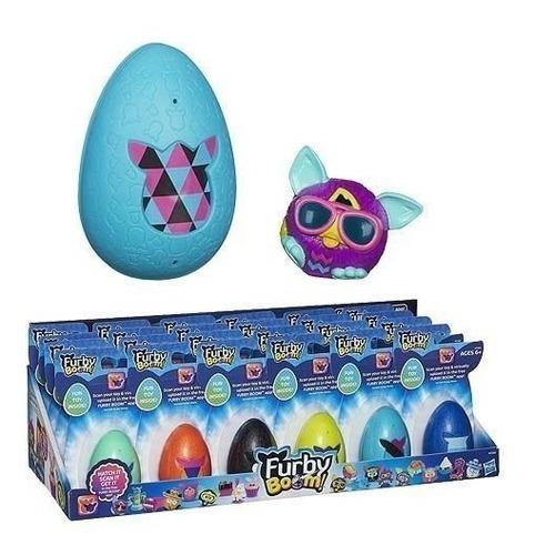 sorpresa de huevos de pascua furby boom juguete (los colores