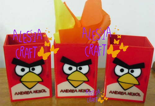 sorpresas de cumpleaños de angry birds