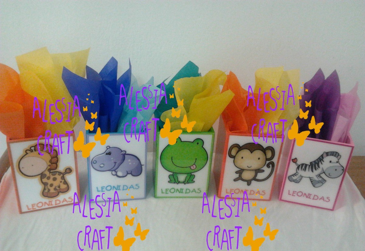 600ccb753 Sorpresas De Cumpleaños Safari Kids - S/ 5,50 en Mercado Libre