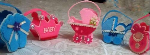 sorpresas infantiles de fieltro para baby shower