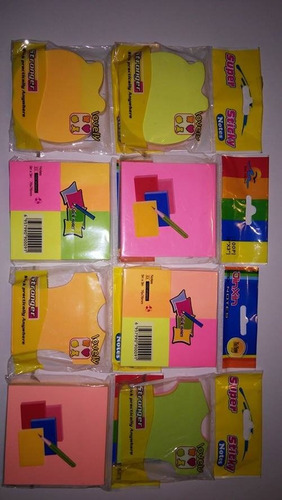 sorpresas infantiles post it de formas y mini post it