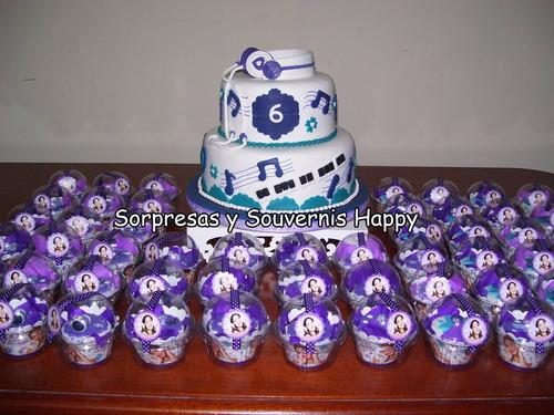 sorpresas para cumpleaños de violetta