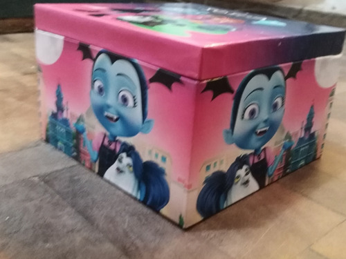 sorpresitas cajas de madera vampirina