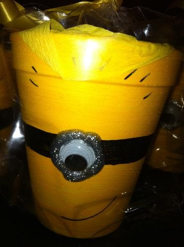 sorpresitas vasitos minions x 10 unidades cumpleaños